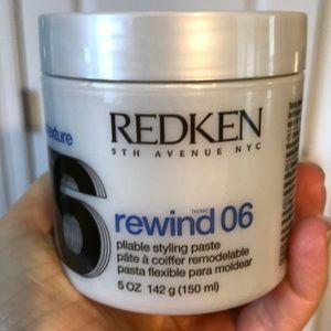 Redken Rewind 06 hair texture